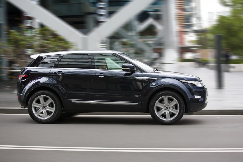 Range Rover Evoque Test Drive Review in Sydney Image #77204