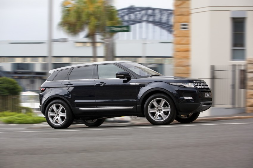 Range Rover Evoque Test Drive Review in Sydney Image #77206