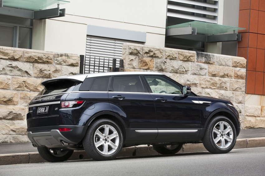 Range Rover Evoque Test Drive Review in Sydney Image #77207