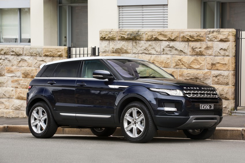 Range Rover Evoque Test Drive Review in Sydney Image #77208
