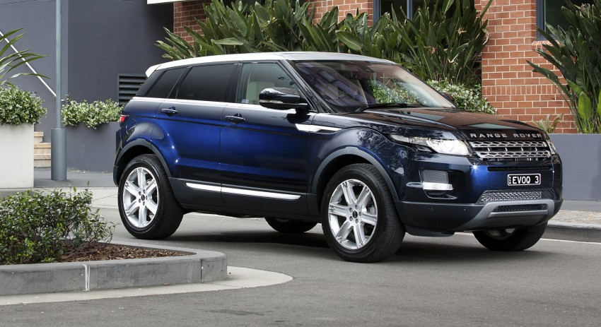 Range Rover Evoque Test Drive Review in Sydney Image #77210