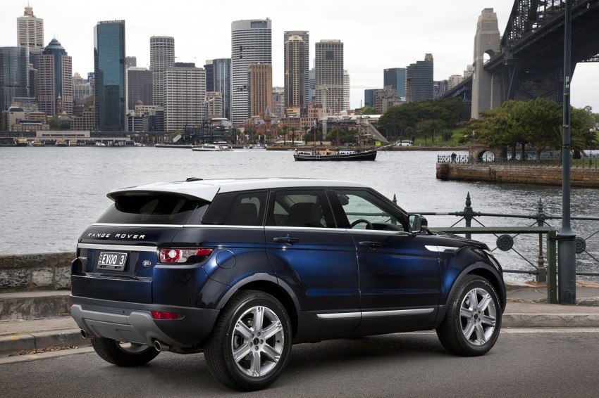 Range Rover Evoque Test Drive Review in Sydney Image #77211