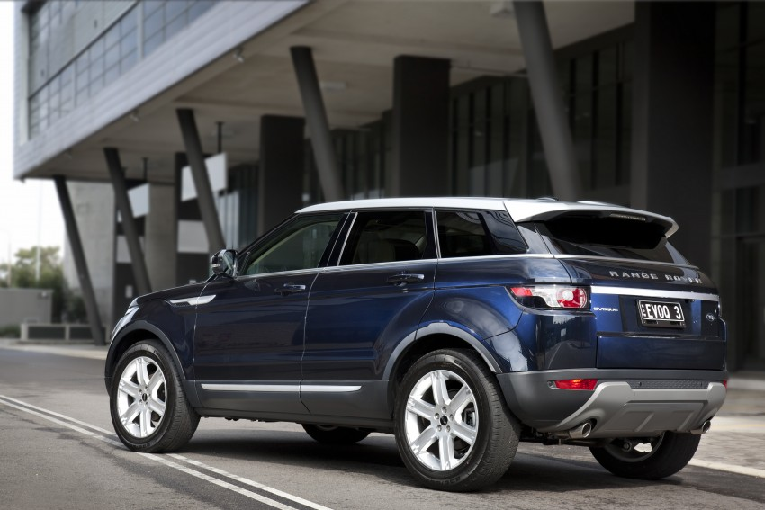 Range Rover Evoque Test Drive Review in Sydney Image #77212