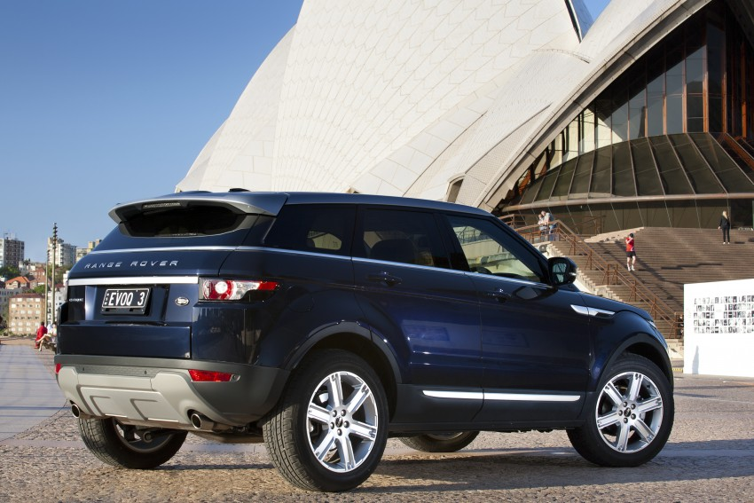 Range Rover Evoque Test Drive Review in Sydney Image #77213