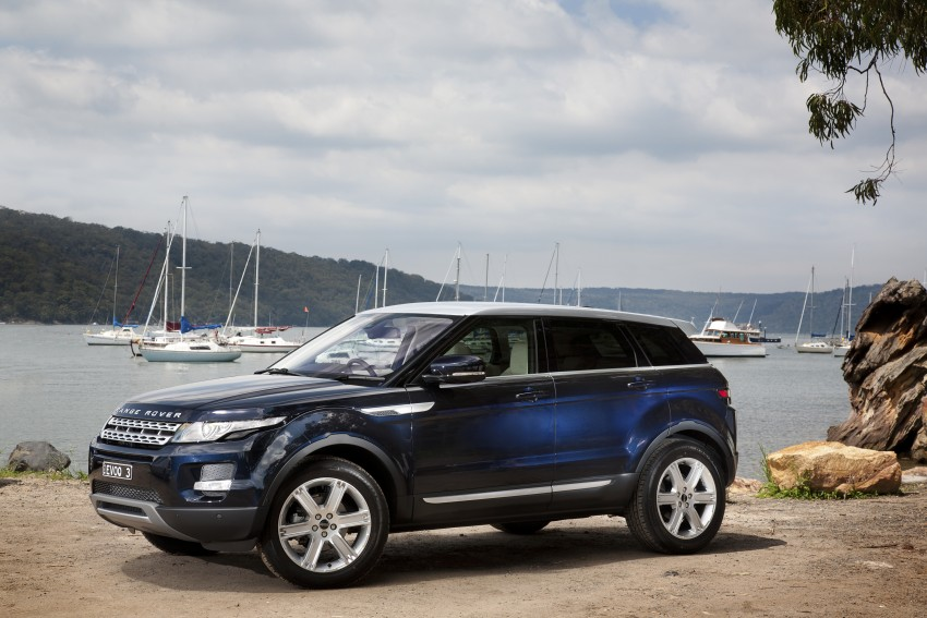 Range Rover Evoque Test Drive Review in Sydney Image #77241