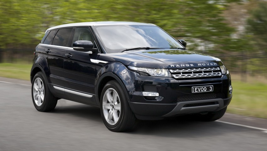 Range Rover Evoque Test Drive Review in Sydney Image #77242