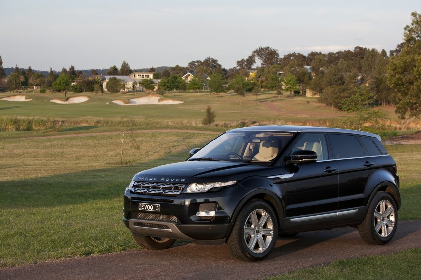 Range Rover Evoque Test Drive Review in Sydney Image #77243