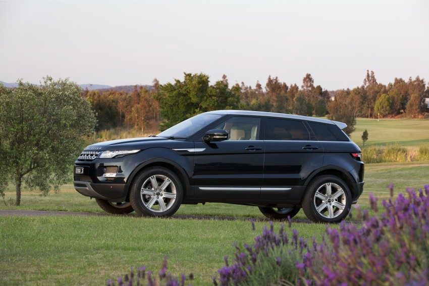 Range Rover Evoque Test Drive Review in Sydney Image #77245