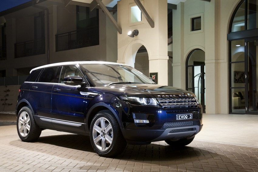 Range Rover Evoque Test Drive Review in Sydney Image #77246