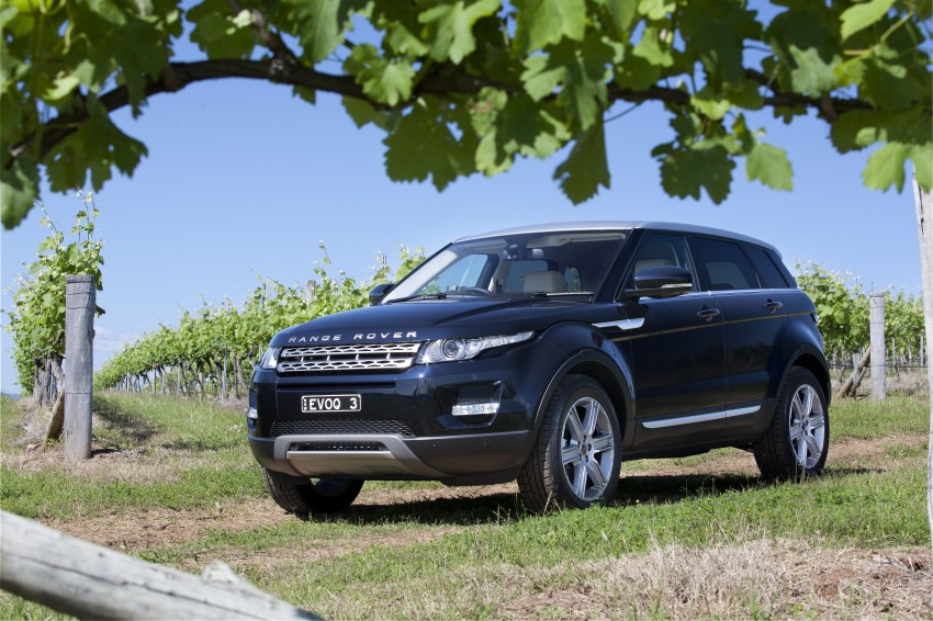 Range Rover Evoque Test Drive Review in Sydney Image #77247