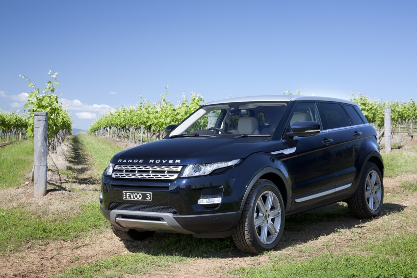 Range Rover Evoque Test Drive Review in Sydney Image #77248