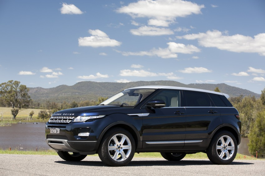 Range Rover Evoque Test Drive Review in Sydney Image #77250
