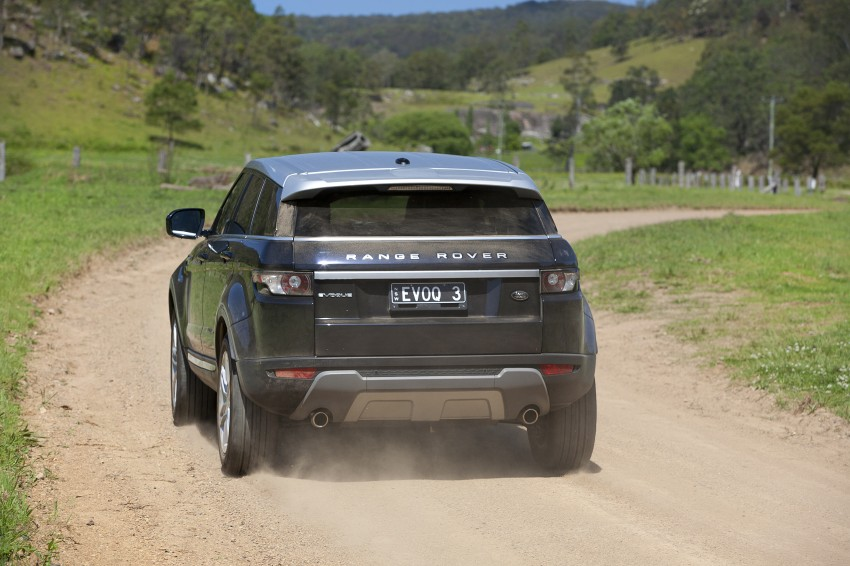 Range Rover Evoque Test Drive Review in Sydney Image #77251
