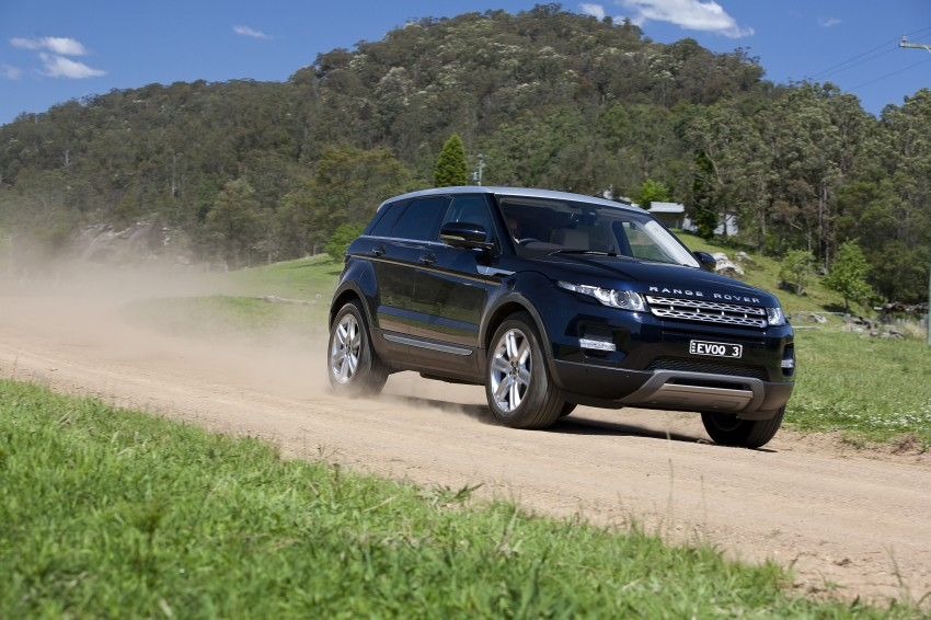 Range Rover Evoque Test Drive Review in Sydney Image #77252