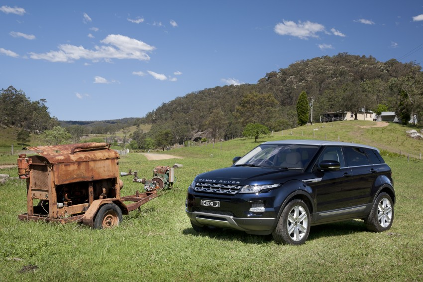 Range Rover Evoque Test Drive Review in Sydney Image #77253