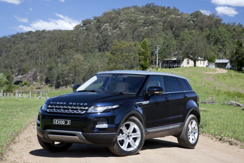 Range Rover Evoque Test Drive Review in Sydney Image #77254