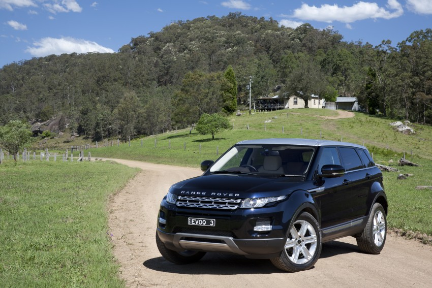 Range Rover Evoque Test Drive Review in Sydney Image #77255