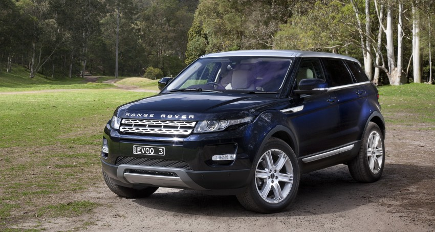 Range Rover Evoque Test Drive Review in Sydney Image #77309