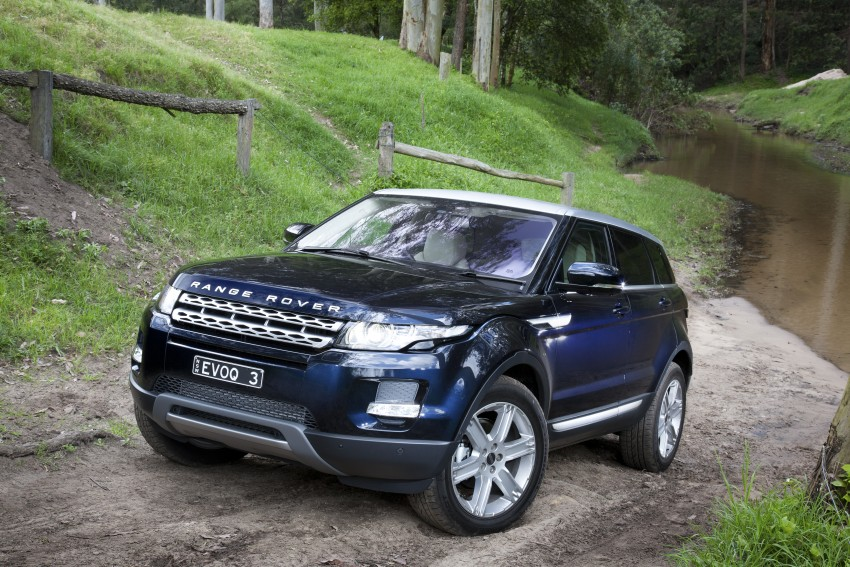 Range Rover Evoque Test Drive Review in Sydney Image #77310