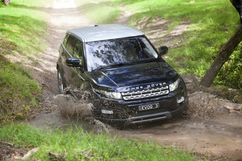 Range Rover Evoque Test Drive Review in Sydney Image #77311