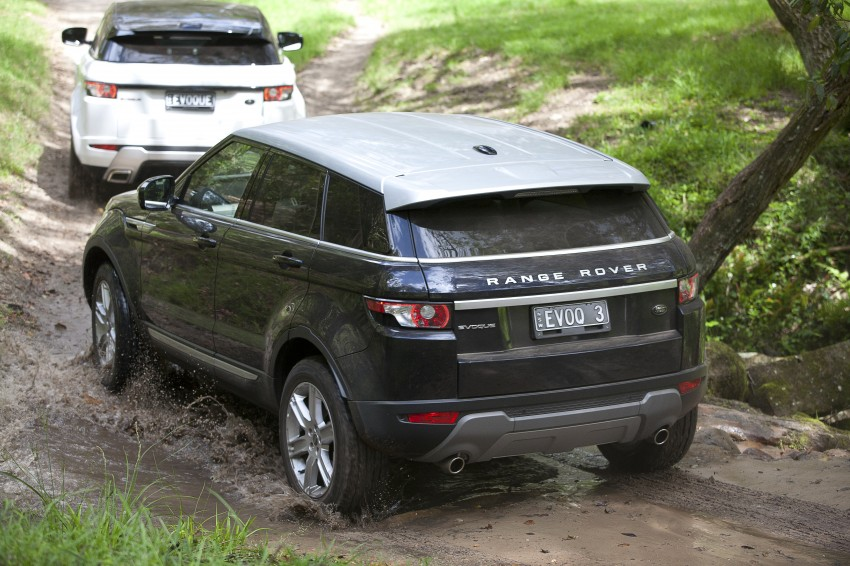 Range Rover Evoque Test Drive Review in Sydney Image #77312