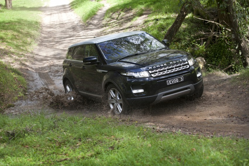 Range Rover Evoque Test Drive Review in Sydney Image #77313