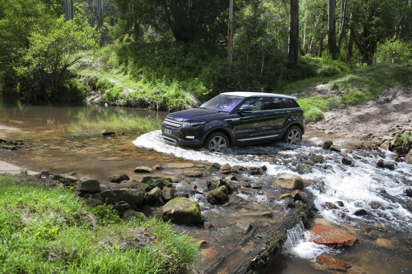 Range Rover Evoque Test Drive Review in Sydney Image #77314