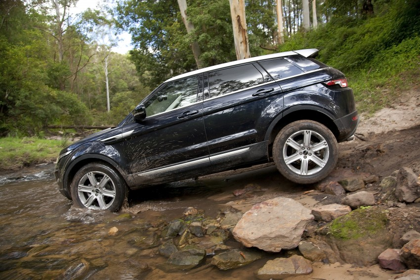 Range Rover Evoque Test Drive Review in Sydney Image #77316