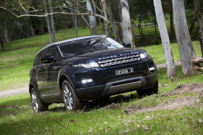 Range Rover Evoque Test Drive Review in Sydney Image #77318
