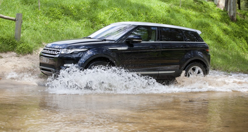 Range Rover Evoque Test Drive Review in Sydney Image #77319