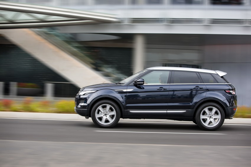 Range Rover Evoque Test Drive Review in Sydney Image #77209