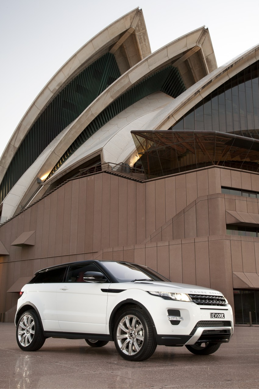 Range Rover Evoque Test Drive Review in Sydney Image #77238
