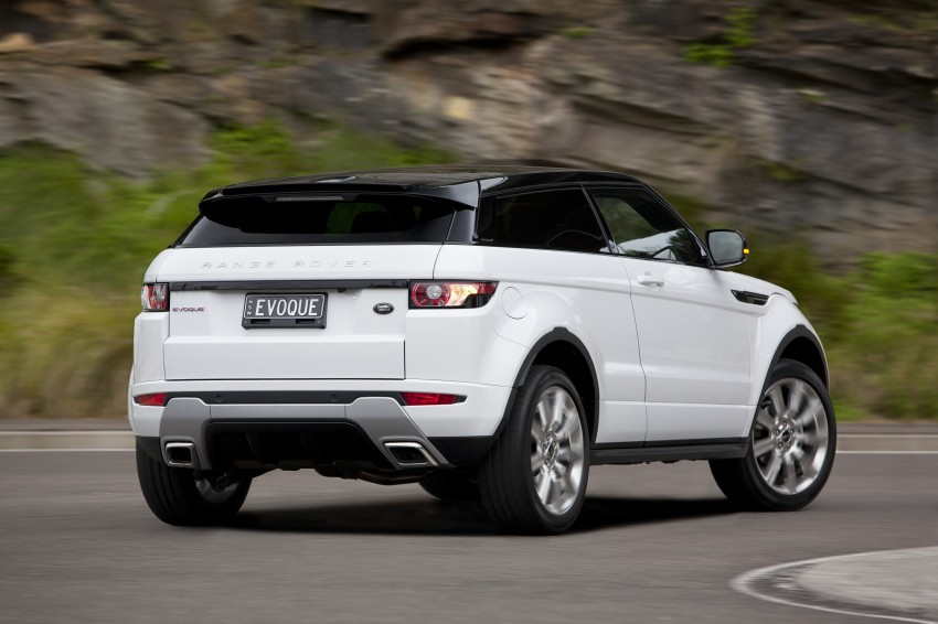 Range Rover Evoque Test Drive Review in Sydney Image #77215