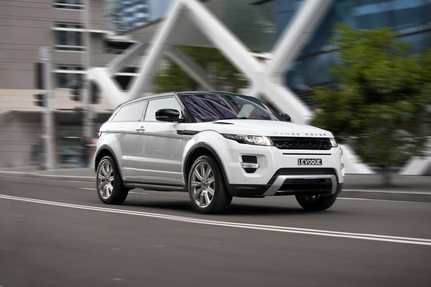 Range Rover Evoque Test Drive Review in Sydney Image #77216