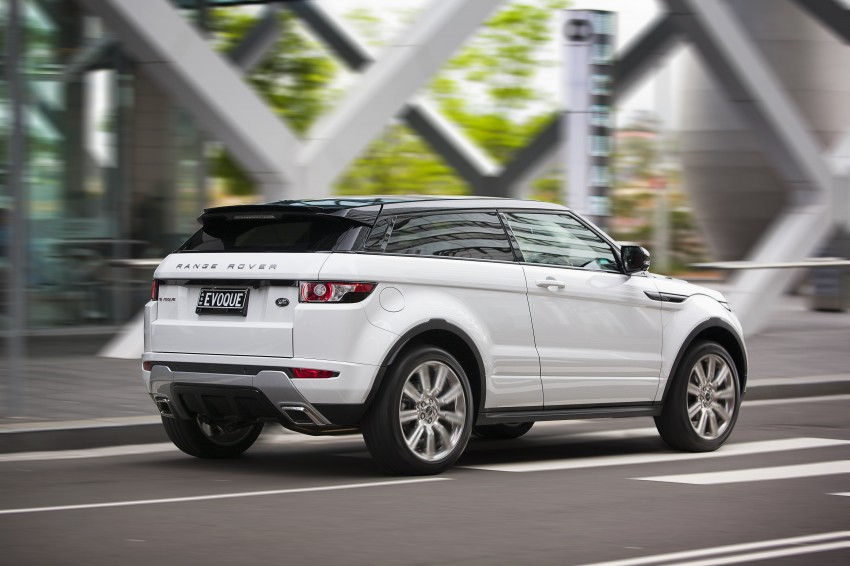 Range Rover Evoque Test Drive Review in Sydney Image #77217