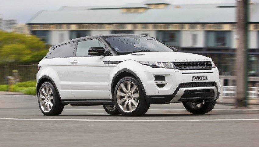 Range Rover Evoque Test Drive Review in Sydney Image #77218