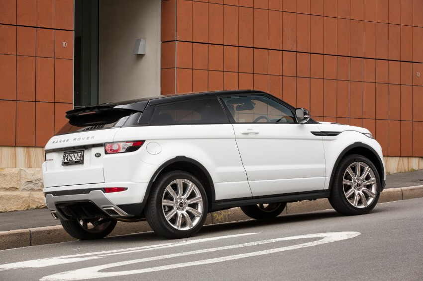 Range Rover Evoque Test Drive Review in Sydney Image #77219