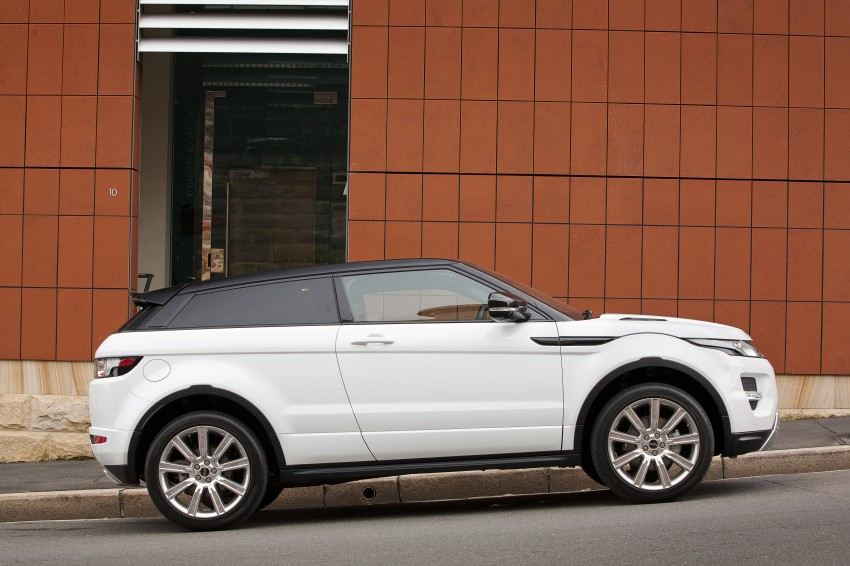 Range Rover Evoque Test Drive Review in Sydney Image #77220