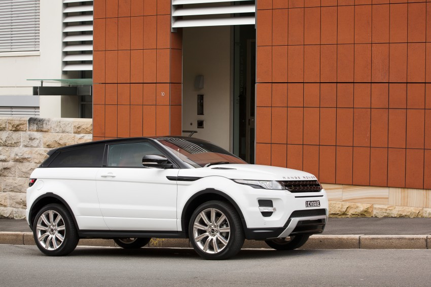 Range Rover Evoque Test Drive Review in Sydney Image #77221