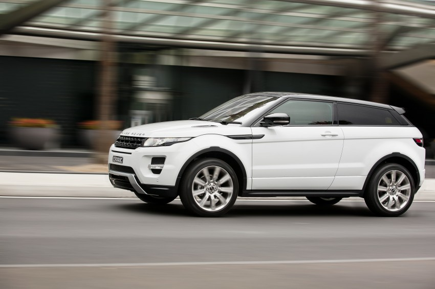 Range Rover Evoque Test Drive Review in Sydney Image #77222