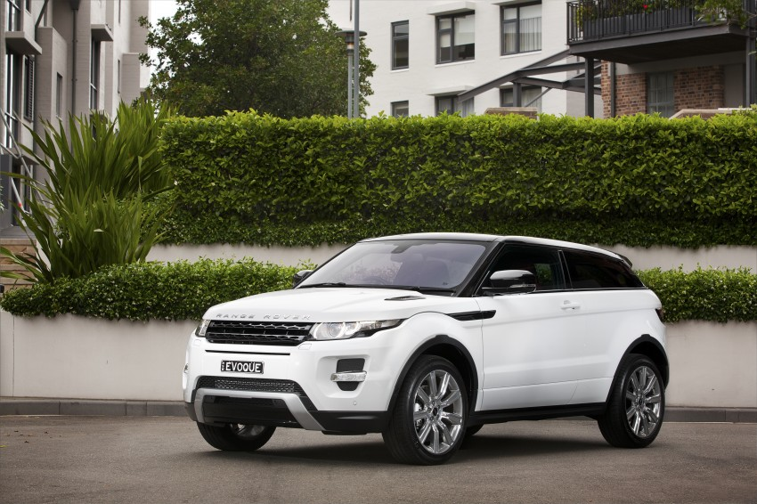 Range Rover Evoque Test Drive Review in Sydney Image #77223