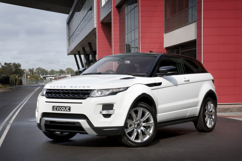 Range Rover Evoque Test Drive Review in Sydney Image #77224