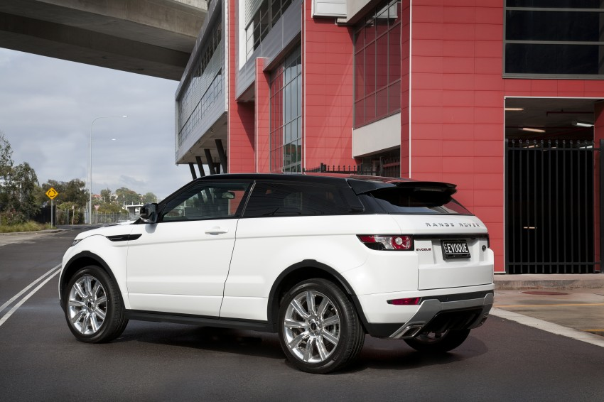 Range Rover Evoque Test Drive Review in Sydney Image #77225