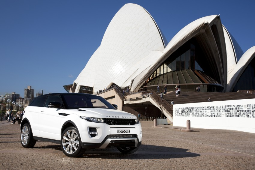 Range Rover Evoque Test Drive Review in Sydney Image #77226