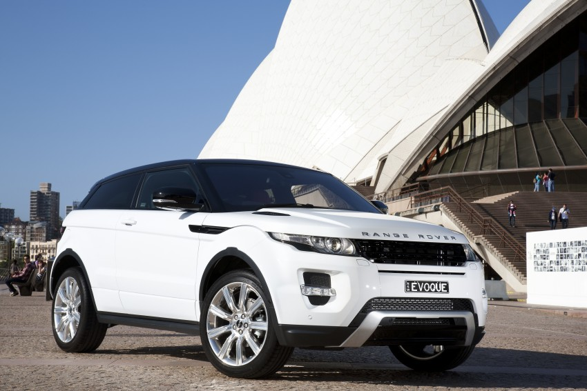 Range Rover Evoque Test Drive Review in Sydney Image #77227