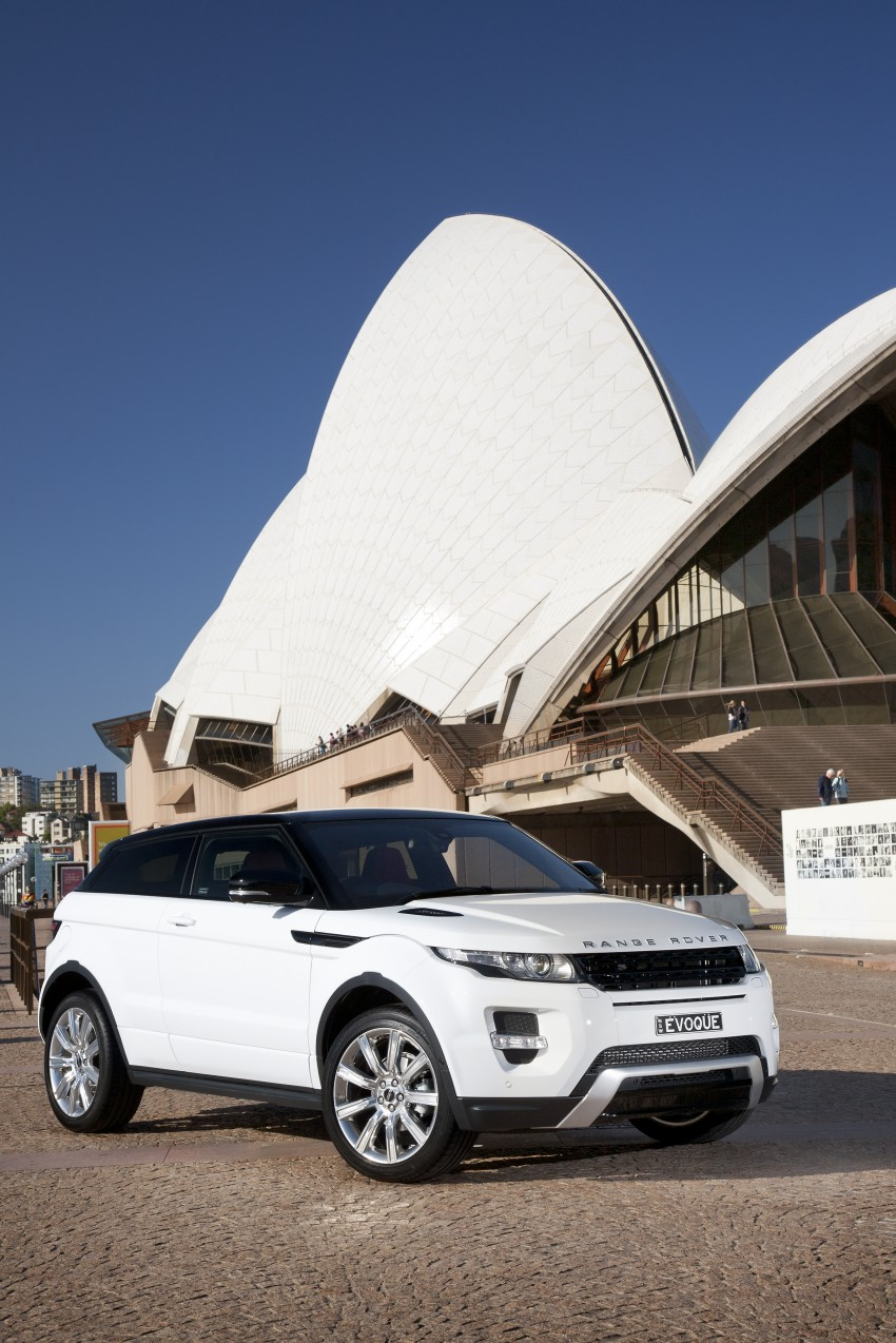 Range Rover Evoque Test Drive Review in Sydney Image #77229