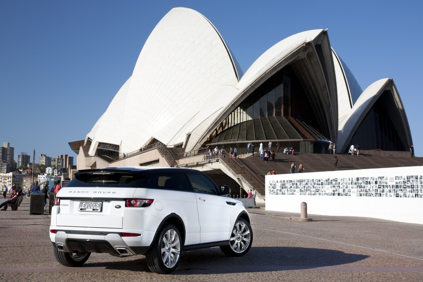 Range Rover Evoque Test Drive Review in Sydney Image #77230