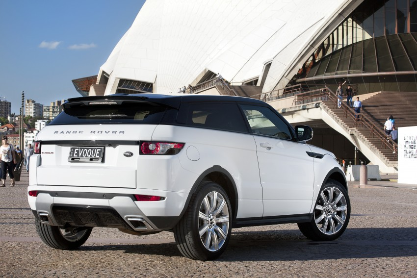 Range Rover Evoque Test Drive Review in Sydney Image #77231