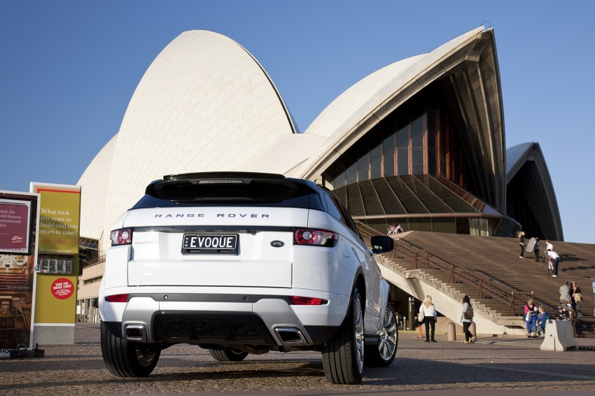 Range Rover Evoque Test Drive Review in Sydney Image #77232