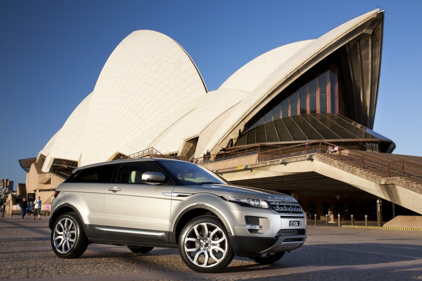Range Rover Evoque Test Drive Review in Sydney Image #77233